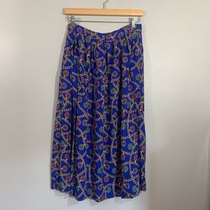 Vintage Charter Club Gold Chain Skirt